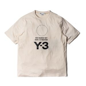 SOLD Y3 Champa Stacked Logo SS Tee size S